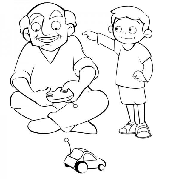 dibujos de abuelos